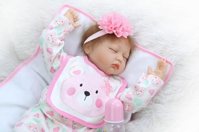 Model Infant Doll Cute Realistic Play House Toys Confinement Nurse Pregnant Women Training Only Photographic Prop