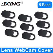 JKING WebCam Cover Shutter Magnet Slider Plastic Universal Camera Cover For Web Laptop iPad PC Macbook Tablet Privacy Sticker