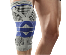 Sports outdoor knee pads silicone braces & supports