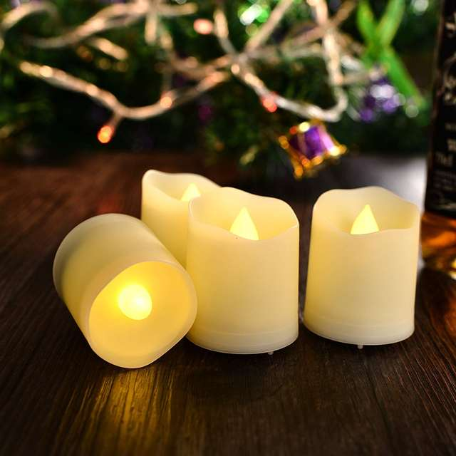 6 Pack LED Flameless Candles with Remote