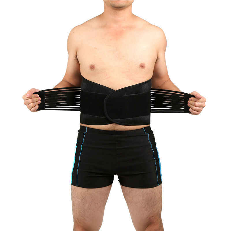 6XL big size Taille Ondersteuning Mannen En Vrouwen Sport Afslanken Riem Running Basketbal Taille Protector Riem Verstelbare Lumber Riem