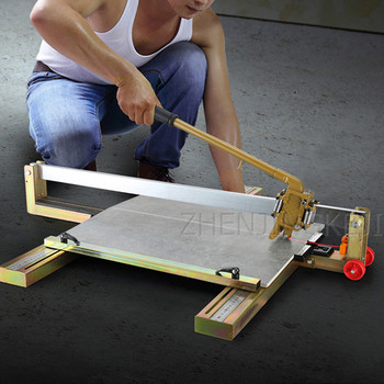 Tile Cutter Manual Foldable Ceramic Tile Push-pull Knife Brick Infrared Positioning Hand Knife Automatic Refueling Cutting Tools