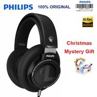Philips original shp9500 headphones support huawei xiaomi MP3, with 3 meters long 3.5mm wire noise canceling headphones