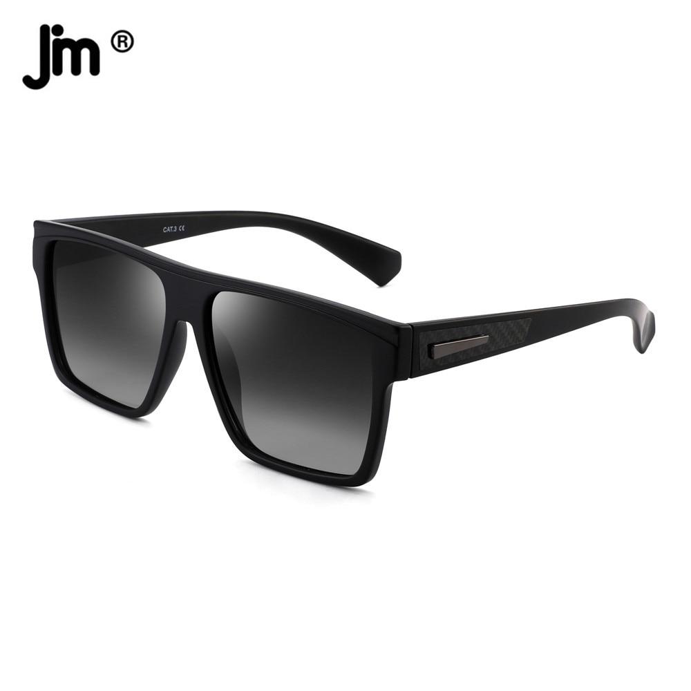 Солнцезащитные очки в стиле ретро для мужчин и женщин, поляризационные, квадратной формы, брендовые дизайнерские, для вождения, черные