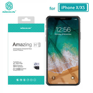 Image 4 - Nillkin de vidrio templado para iPhone 11 12 Pro Max 8 7 Plus X XS X Max XR increíble H+Pro Protector de pantalla para iPhone 12 Mini de vidrio
