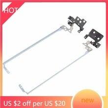 FOR Acer Aspire ES1-531 ES1-571 Left Right LCD Screen Hinge Bracket Arm Set Kit Pair