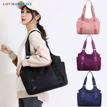 Fashion Womens Shoulder Bags Oxford Pink Ladies Handbags Large Capacity Designer