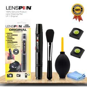 LENSPEN Brush Suit Camcorder VCR Clean-Cloth-Kit Dust-Cleaner Air-Blower-Wipes Gopro