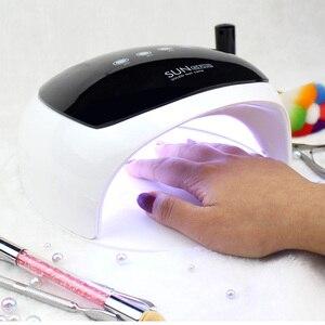 Image 5 - SUN 4S Plus UV Nail Lamp 52W Nail Art Gel Metalic Builder Gel Dryer Gel Nail Polish LED Lamp