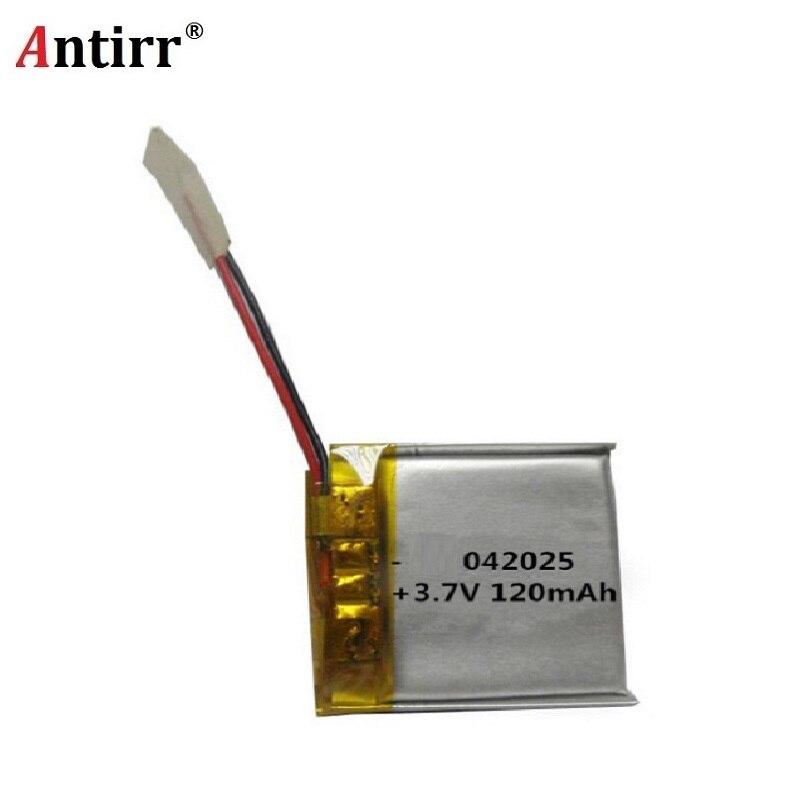 3,7 V 120mAh 402025 литий-полимерная Li-Po литий-ионная аккумуляторная батарея для Mp3 MP4 MP5 GPS PSP мобильных bluetooth наушников