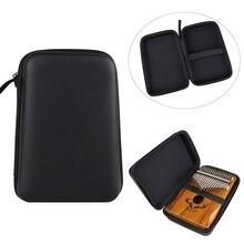 10/17/21 Keys Kalimba Case Thumb Piano Case Water-resistant Shock-proof Mbira Box Bag M2EB