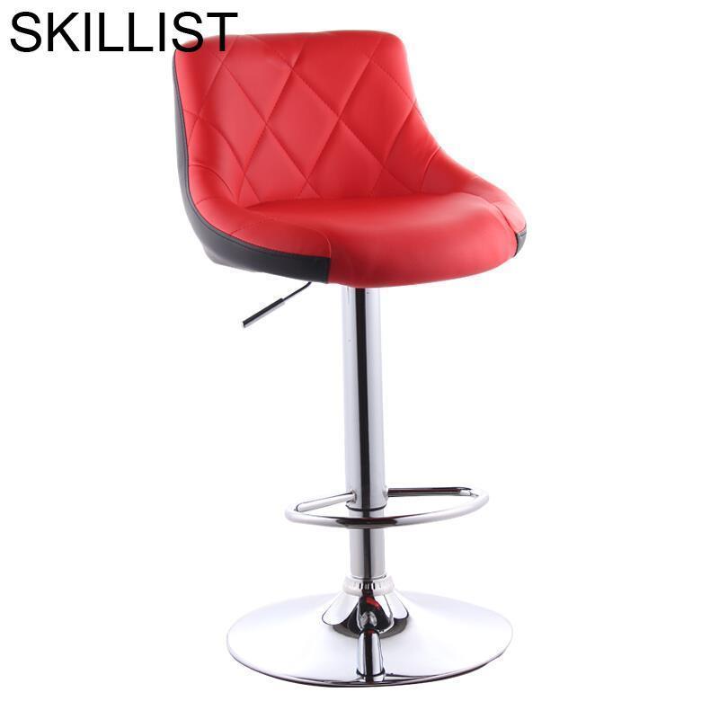 Stoelen Barkrukken Taburete La Cadir Para Barra Tabouret De Comptoir Ikayaa Hokery Leather Stool Modern Cadeira Silla Bar Chair
