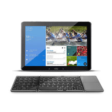 Mini Portabel Lipat Bluetooth Keyboard Nirkabel Dapat Dilipat Touchpad Keyboard untuk Windows Android dan IOS Desktop Tablet Notebook(China)