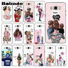 Babaite Fashion black girl Queen Mom and baby Phone Case For Samsung Galaxy J7 J6 J8 J4 J4Plus J7 DUO J7NEO J2 J7 Prime(China)