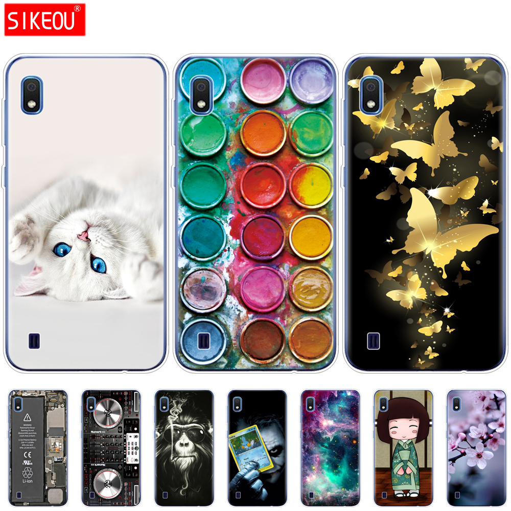 For <font><b>Samsung</b></font> <font><b>A10</b></font> Case Soft TPU Silicon Back Cover Phone For <font><b>Samsung</b></font> Galaxy <font><b>A10</b></font> GalaxyA10 A 10 SM-A105F A105 A105F <font><b>coque</b></font> bumper image
