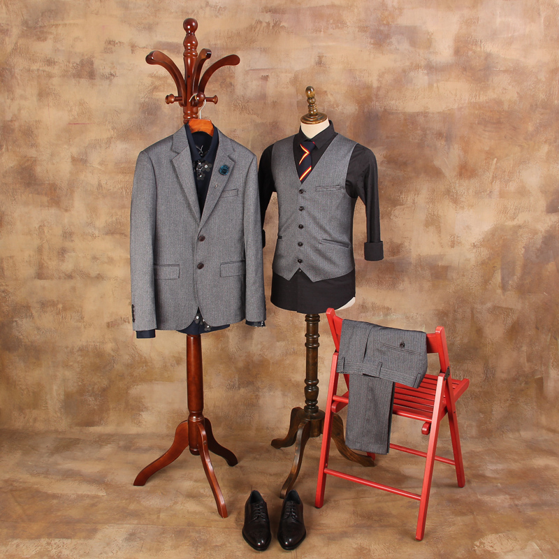 New Arrival Fashion Banquet Wedding Suits Blazer Mens Suit Jackets Male Business Suits For Man ( Suits+vest+pant )