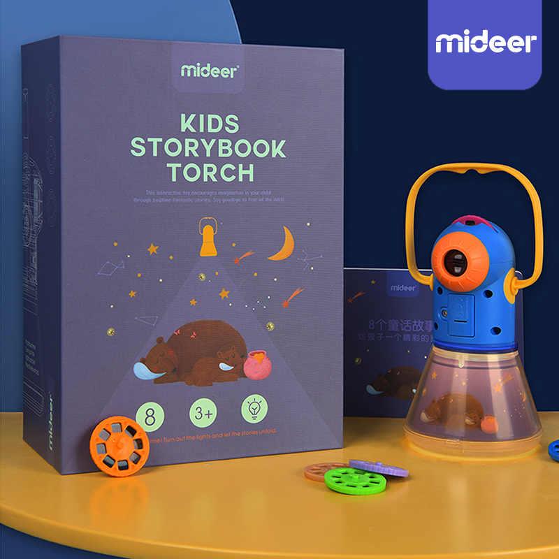 Kinder Mini Theater Märchen Projektor Glow Spielzeug Baby Beleuchtung