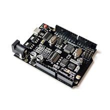UNO R3 + WiFi ATmega328P + ESP8266 (память 32 мб) Φ CH340G для Arduino Uno NodeMCU WeMos ESP8266, новое поступление
