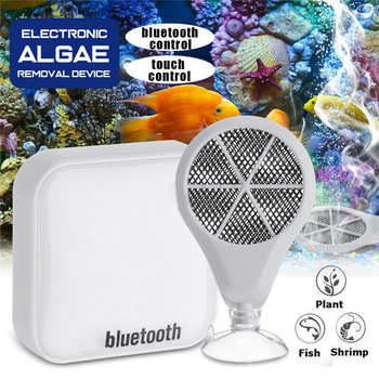 Bluetooth 3 in 1 Algae Cleaner Electronic Remover 3rd Generation for Aquarium Fish Tank can CSV