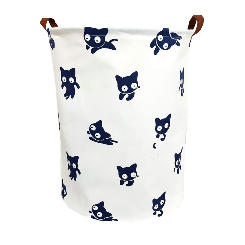 19.8 Inch Large Sized Waterproof Foldable Laundry Hamper Bucket,Dirty Clothes Laundry Basket, Bin Storage Organizer For Toy Co