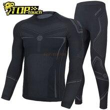 Motorcycle Underwear Scoyco Suits T-Shirt Mesh Tight Black Breathable Men
