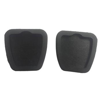 2Pcs Car Vehicle Brake Clutch Pedal Rubber Pads Cover for Honda Civic for Acura image