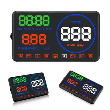 M9 Car Head-up OBD2 Automotive HUD Display OBD2 Fault Code Elimination Automotive DiagnostiD2 Fault Code Elimination Automotive фото