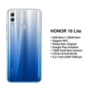 Image 2 - Honor 10 Lite 128GB Global Version SmartPhone NFC 24mp Camera Mobile Phone 6.21 inch 2340*1080 pix Display Fingerprint