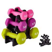 Hantel Halterung Dreieck Blätter Baum Rack Steht Gewicht Heben Halter Home Übung Fitness Gym Ausrüstung (Rack Nur)