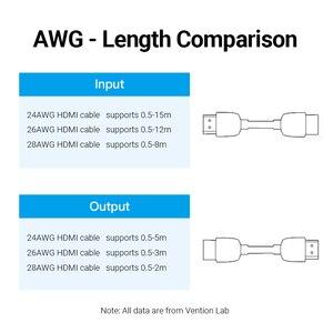 Image 5 - Bộ Chia Vention HDMI Nối Dài HDMI Nữ Để Nữ Cổng Kết Nối HDMI 4K 2.0 Mở Rộng Bộ Khớp Nối Cho PS4 Truyền Hình Cáp HDMI bộ Kéo Dài HDMI