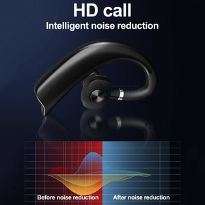 Image 4 - COOL DIER Stereo Wireless Bluetooth Earphone Earhook Business Headset with Mic Handsfree Music Earphones For iPhone Samsung