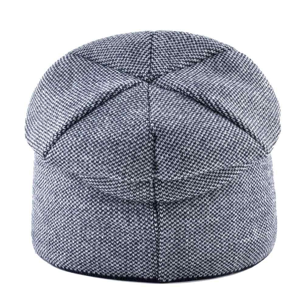 قبعات شتوي السيدات الدافئة محبوك بيني النساء عالية الجودة الحياكة الصوف Skullies قبعات مع حجر الراين الإناث بونيه قبعة