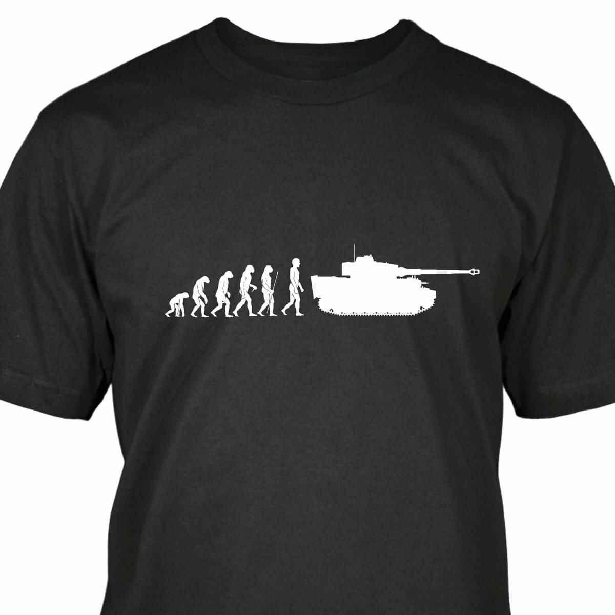 Panzer VI TIGER EVOLUTION T-Shirt-show titolo originale
