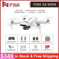 In Aktien FIMI X8 Mini Kamera Drone 8km 4k Professional Mini Drone Quadcopter 250g-class Drone GPS Kamera Für FIMI X8 MINI Drone