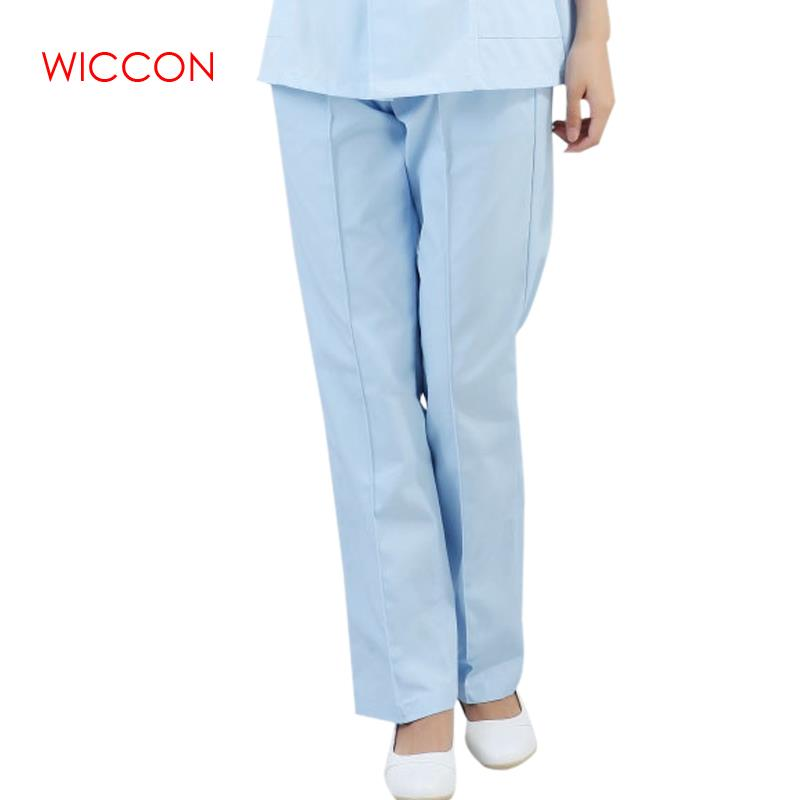 2020 New High Quality Medical Uniforms Hospital Doctor Nurse Pants Medical Pants Dentists Beauty Salon Clinic Women Female Pants