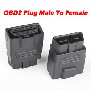 Image 1 - OBD2 Plug Extension Cord 16Pin Full Power Adapter 12V 24V Car Truck Driving Computer Tester Universal Auto Scanner OBD Socket