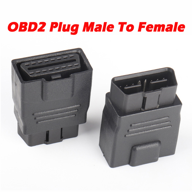 OBD2 Plug Extension Cord 16Pin Full Power Adapter 12V 24V Car Truck Driving Computer Tester Universal Auto Scanner OBD Socket