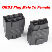 OBD2 Plug Verlengsnoer 16Pin Full Power Adapter 12V 24V Auto Vrachtwagen Rijden Computer Tester Universele Auto Scanner obd Socket