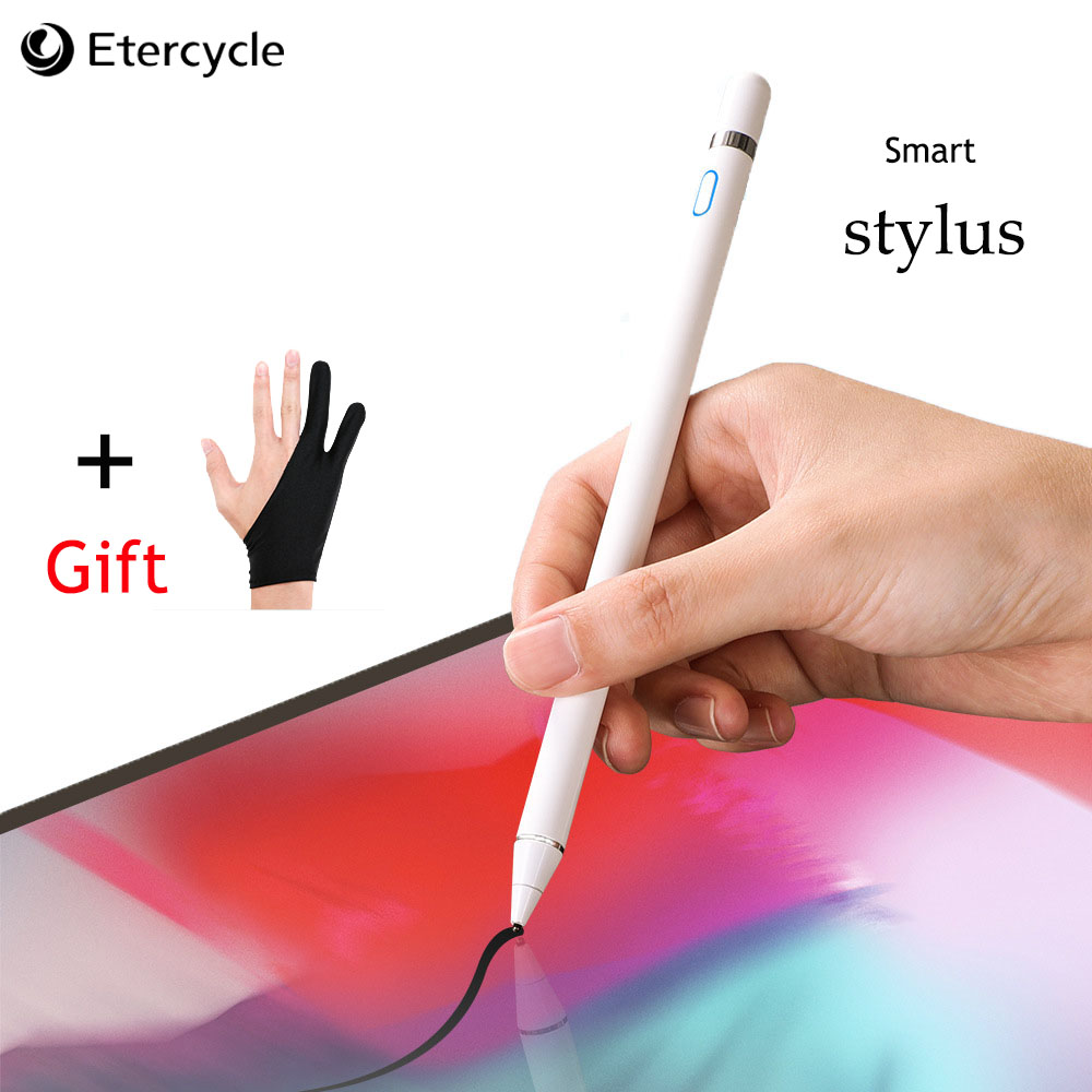 New Universal Active Stylus Touch Pen For Xiaomi Smart Capacitance Drawing Pencil Capacitive Screen For IPhone Tablet Universal