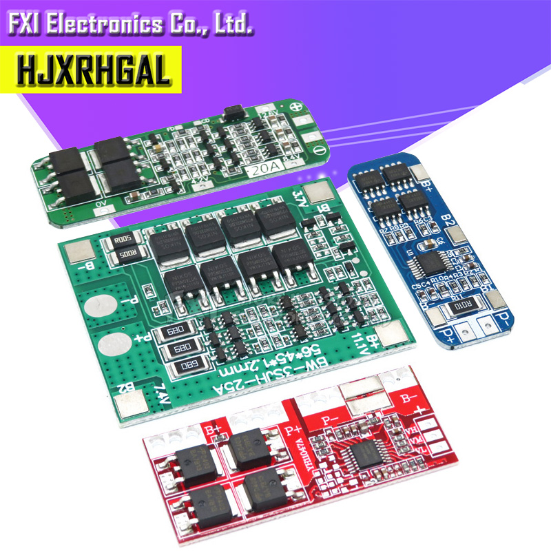 3S 10A 20A 25A 30A Li-ion Lithium Battery 18650 Charger PCB BMS Protection Board For Drill Motor Lipo Cell Module image