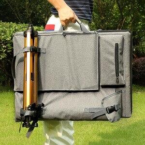 Image 1 - Большая сумка для рисования, набор для рисования, дорожная сумка для набросков, инструменты для рисования, холст для художника, товары для рукоделия