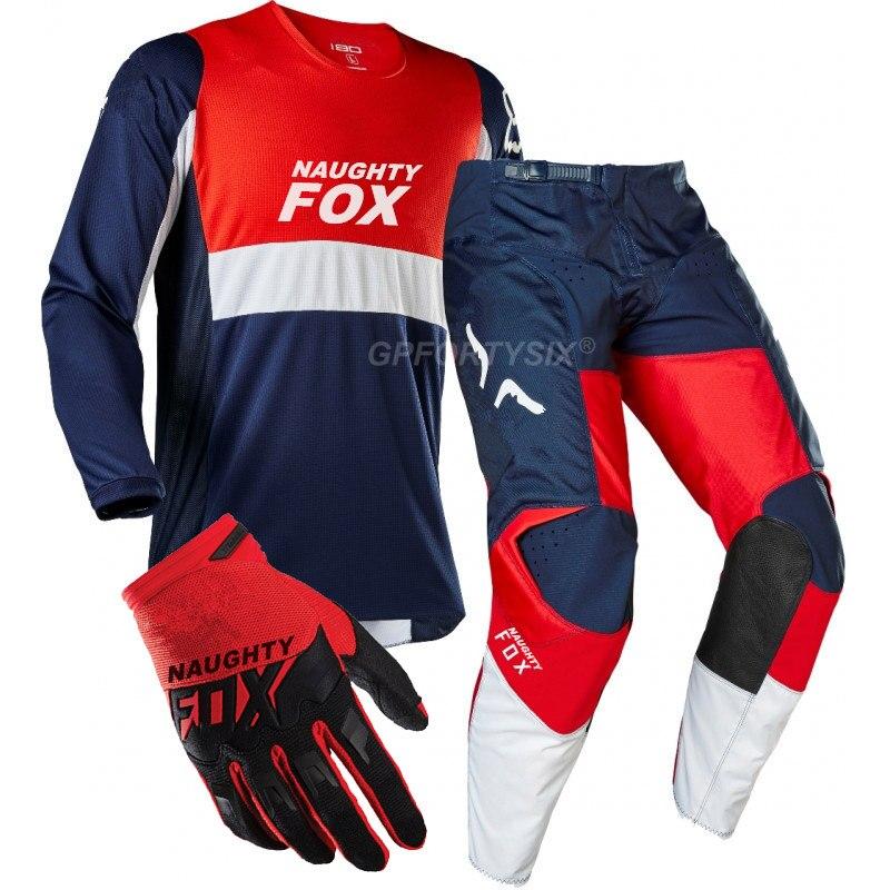 360 Kila DH vtt Moto engins de course Dirt Bike cyclisme Jersey MX pantalon gants équitation ensembles Motocross costumes Moto Combos vêtements