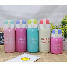 NEW 200ML Cartoon hot water Thermos Cup Bottle Stainless Steel Vacuum Flasks Thermo Coffee Tea Travel Thermocup 2019 new