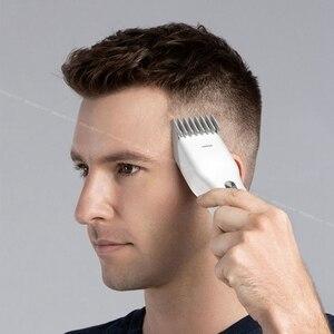 Image 5 - Mannen Elektrische Tondeuse Clipper Professionele Baard Trimmer Draadloze Usb Oplaadbare Haar Snijmachine Voor Enchen