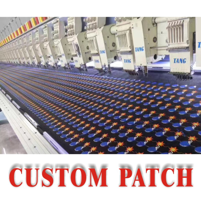 Custom patches Iron On Embroidered Patches Badges Appliques for Clothes Stickers DIY Sewing