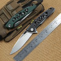 Nimoknives YGGDRASIL Flipper Folding knife G10 handle 440C blade Ball bearig camping hunting outdoor survival Knives edc tools