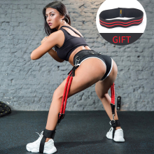 Booty Band Set   Workout Resistance Bands   Booty Butt System for a Bikini Butt Abs Glutes Muscle Workout with Adjustable Waist