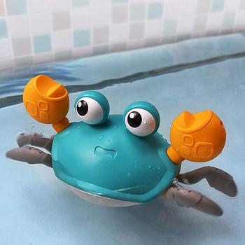 Zabawki do kąpieli krab mechaniczna niemowlę woda zabawki na plażę dla wanna dla dzieci pływanie prysznic gra zabawka łazienkowa dla dzieci prezenty dla dzieci tanie i dobre opinie CN (pochodzenie) Z tworzywa sztucznego Baby Bath Toys Bath Toys Baby Toys Toys for Newborns Baby Bath Other Bath Toys for Kids Kids Toys Water Toys Bath Toy Newborn Games