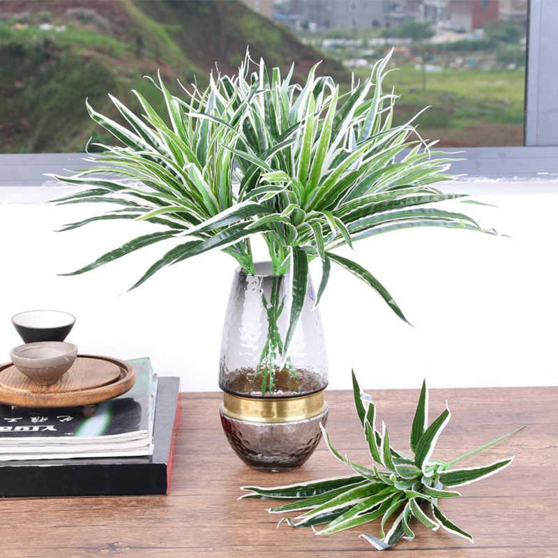 الاصطناعي الكلوروفيتوم فرع نباتات بلاستيكية ل ديكور حديقة المنزل النباتات وهمية ديكور داخلي