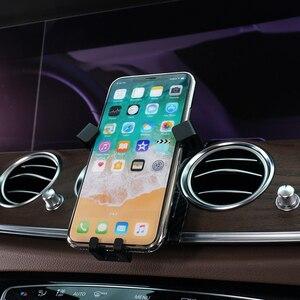 Image 3 - Держатель для Mercedes Benz E Class W213 2017 2018, держатель для телефона с креплением на вентиляционное отверстие для Mercedes Benz E CLASS 2019